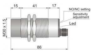 SC30SM-AE25 NO/NC H