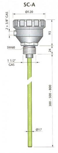 SC-A500 24Vac