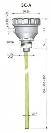 SC-A800 110/220Vac