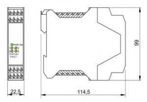 BARRIERA ATEX mod. D1031D