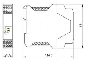 BARRIERA ATEX mod. D1033D
