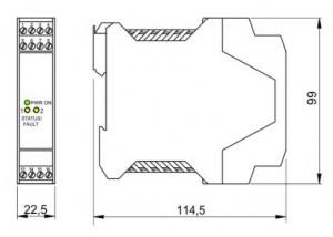 BARRIERA ATEX Mod. D1130D