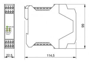 BARRIERA ATEX Mod. D1033Q