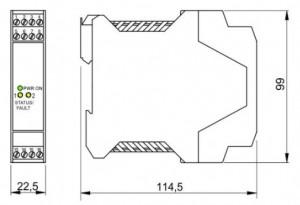 BARRIERA ATEX Mod. D1030S