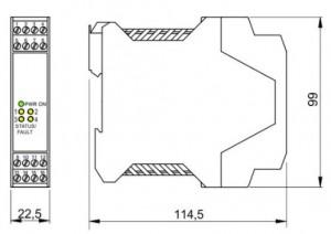 BARRIERA ATEX Mod. D1032Q