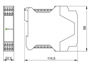 BARRIERA ATEX Mod. D1010D