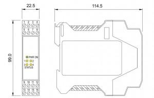 BARRIERA ATEX Mod. D1042Q