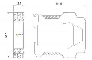 BARRIERA ATEX Mod. D1012Q