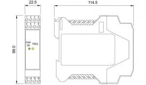 BARRIERA ATEX Mod. D1035S